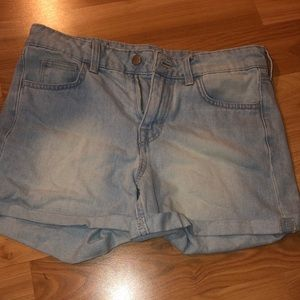 Light Washed H&M Shorts